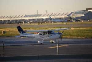 A Cessna 182S.