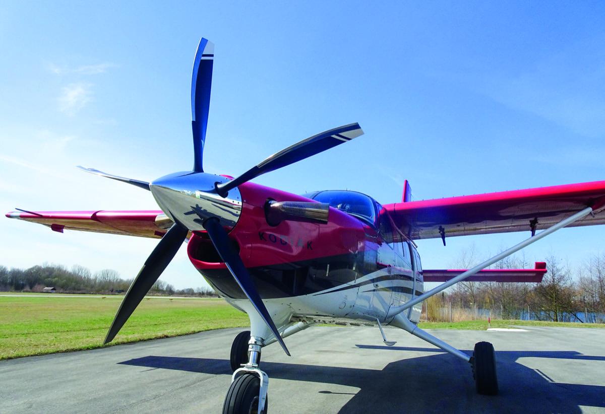 STC for new prop for Kodiak
