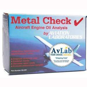 Aircraft-Oil-Analysis-Test