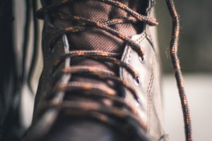 General Chipping discusses construction safety gear and choosing the right work boots.