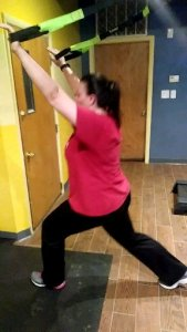 Stretching with suspension trainers