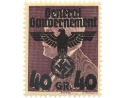 Przedruk znaczka Fi.304 z prezydentem Mościckim
