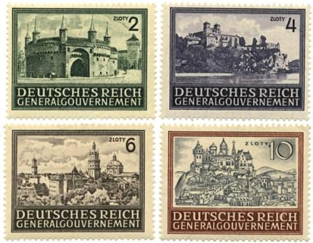 Seria 113-116 1943, kwiecień – 1944, marzec, Widoki zabytkowych budowli