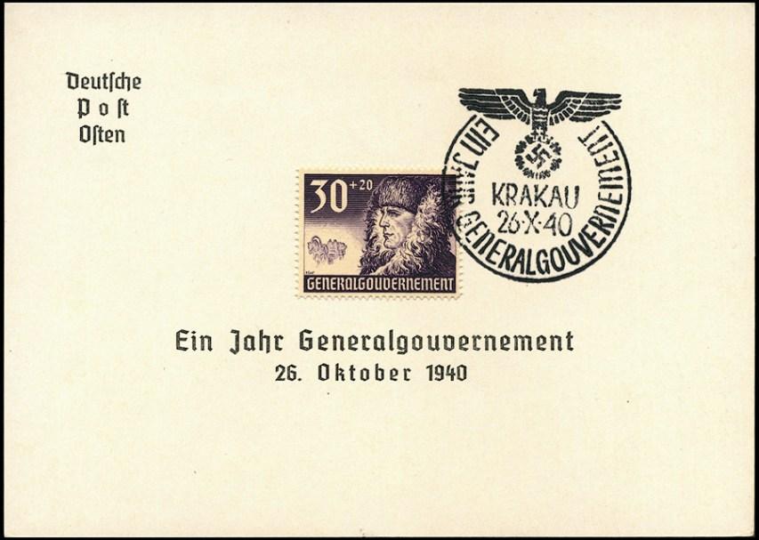 Kasownik 6A Krakau -Ein Jahr Generalgouvernement 26 X 40