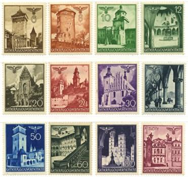Seria 40-51 1940, 5 sierpnia i 5 września I wydanie definitywne Generalnego Gubernatorstwa