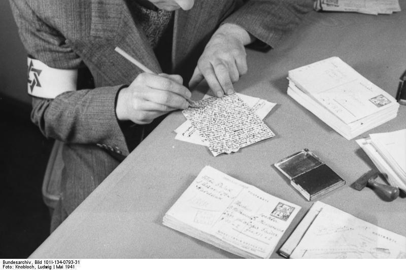 Cenzura koresponencji w Gettcie warszawskim