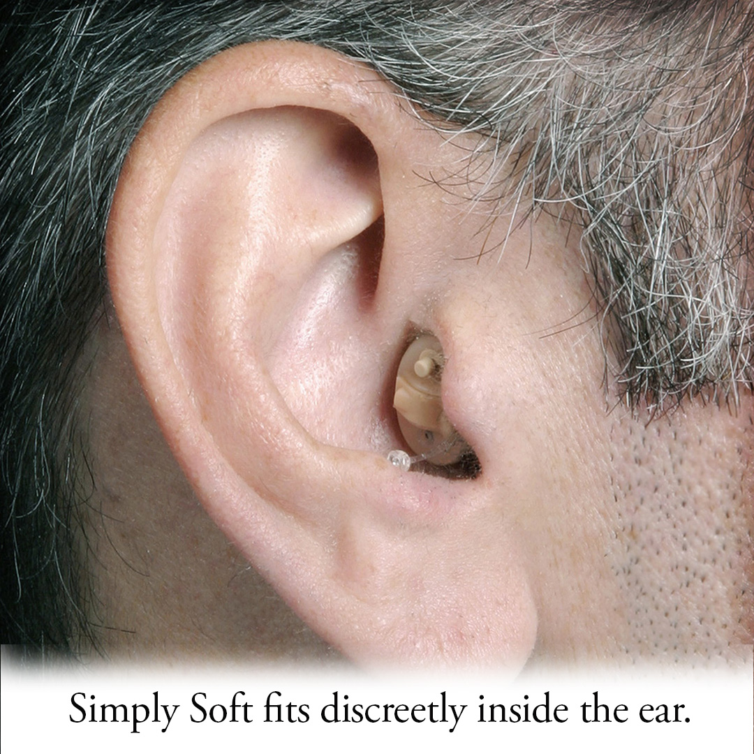 Simply Soft Smart Touch Digital Hearing Aid Right Ear