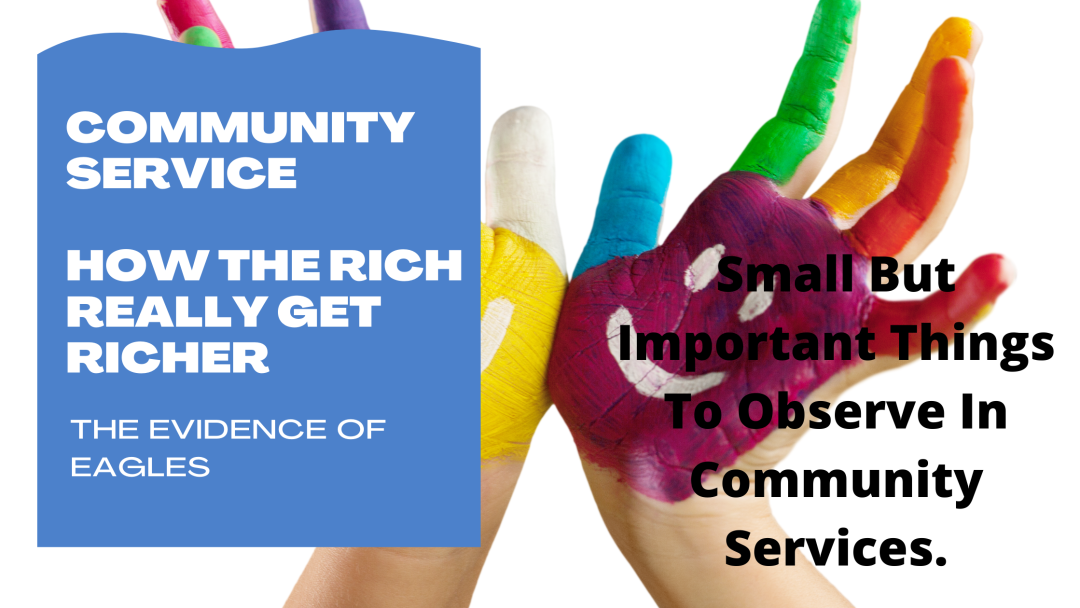 Small But Important Things To Observe In Community Services.