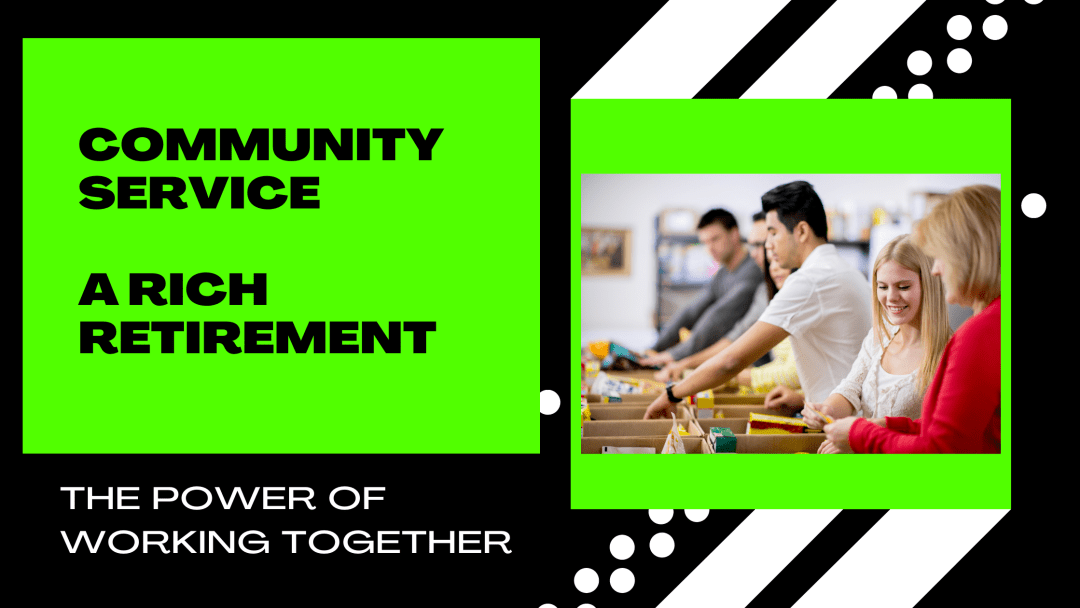 community service the power of working together