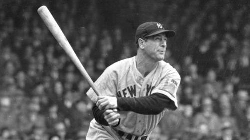 Lou Gehrig, NY Yankee great - Give Clear Direction, Then Follow Through