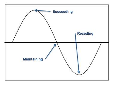 Performance Sine Curve Graphic
