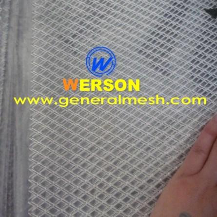 Universal Aluminum Perforated Mesh Grille
