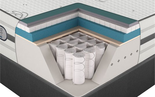 Beautyrest Platinum Hybrid Austin Luxury Firm Mattress