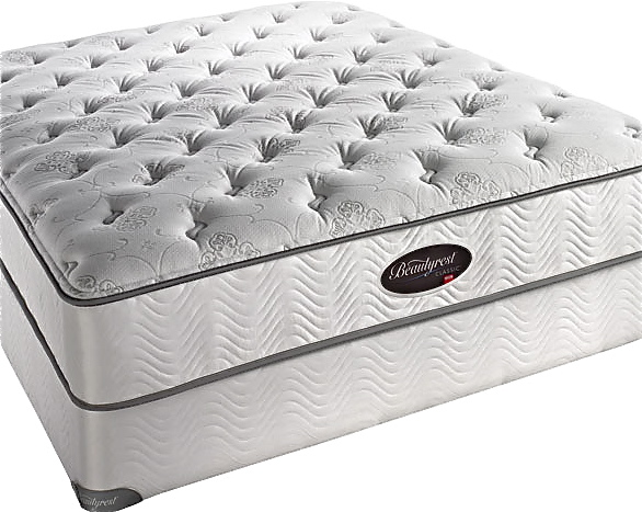 X Simmons Beautyrest Classic Ultra Plush With Memory Foam