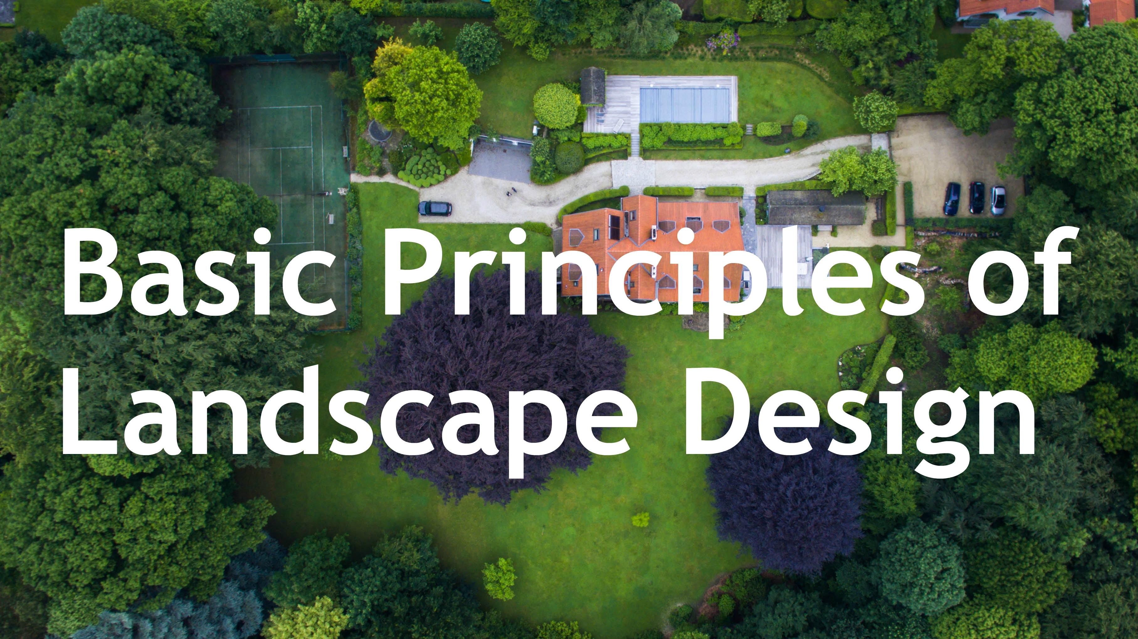 The Basic Principles of Landscape Design - General Rental ... on Basic Landscaping  id=40053