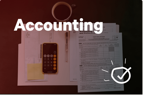 Accounting services.