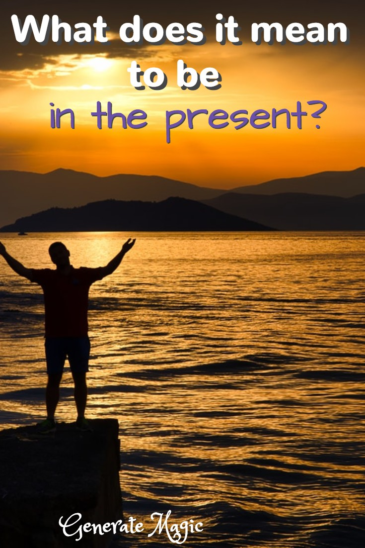 "We often hear that we should ""live in the moment"" or ""be in the now."" But what does this actually mean? How do you ground yourself in an age of endless distraction? 