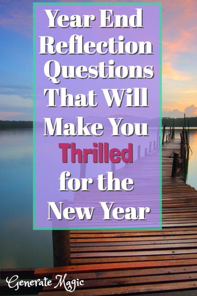 Do you feel like each new year is the same old same old? Answering year end reflection questions provides a powerful opportunity to learn from the past and plan for the future. Discover how to review past goals, honestly assess your progress, and use this information to design an awesome new year. | yearly goals | yearly review | yearly review questions | annual review | new years resolution | new years goals 2019 | reflecting on the past year | reflecting on 2019 | life lessons | learning from the past |
