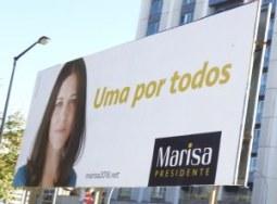 Marisa : La candidate du bloc de gauche ©fv