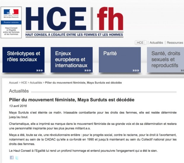 HCE fh Maya Surduts Hommage