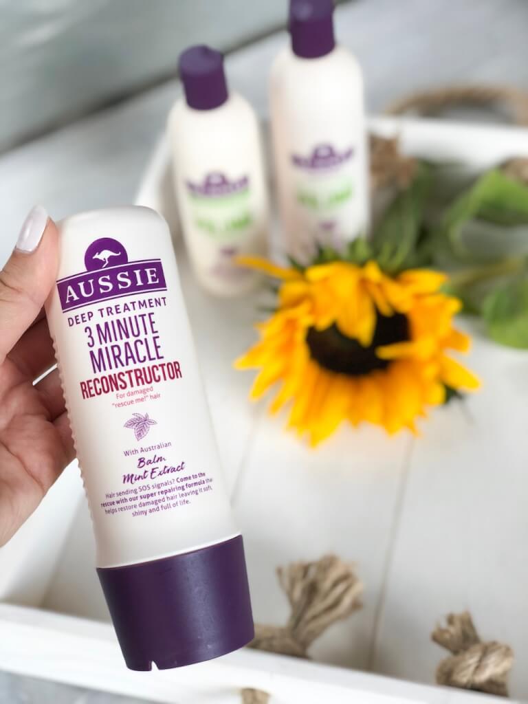 3 minutes - miracle pour les cheveux abimés - Aussie