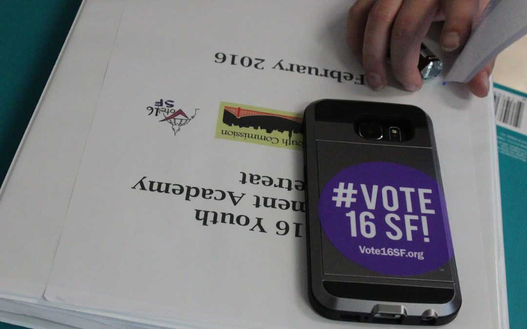 VOTE16 HEADS TO THE BALLOT IN SAN FRANCISCO