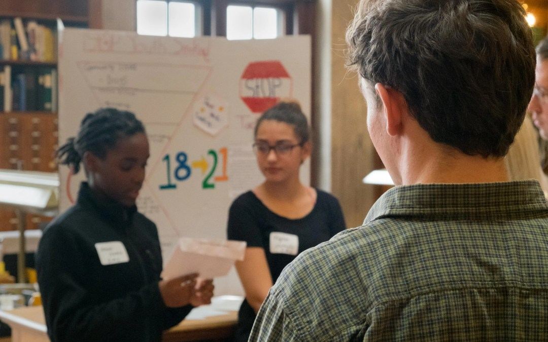Generation Citizen Providence Students Lobby to Prevent Youth Smoking