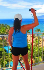 Resistance bands when traveling