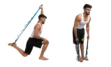 Stretch strap better posture