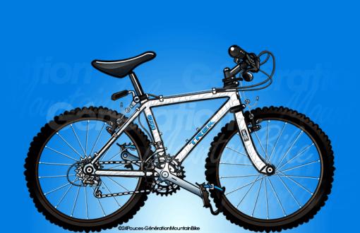 1991 – Trek 8000 Aluminium