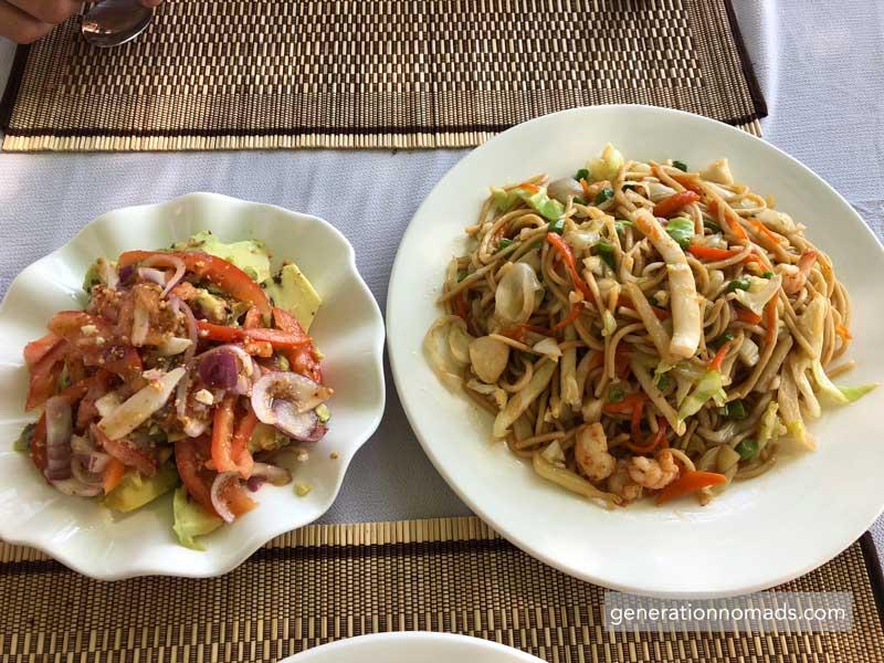 Ngapali Beach Myanmar Food