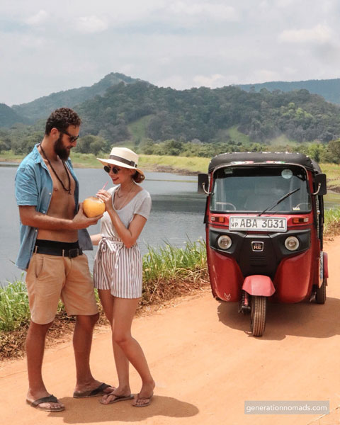 Off the beaten track with our Tuktuk
