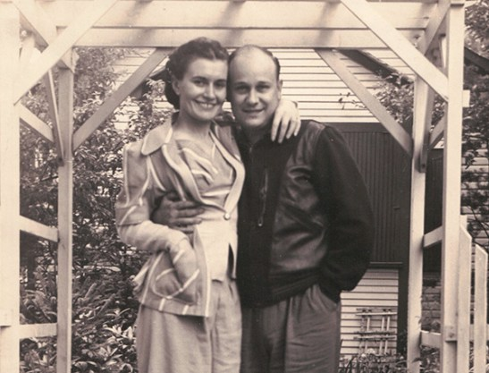 Wanda and Raymond Hartman, parents of Raymond Hartman '69