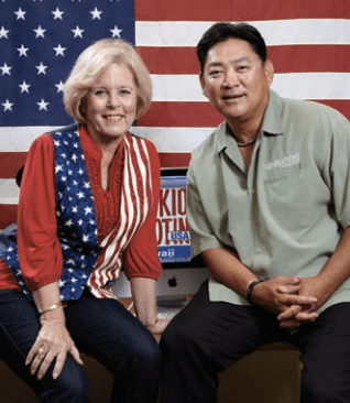 Linda Coble and Percy Ihara - Generations Magazine - October-November 2012