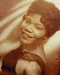 Martha Wilson in her 20s