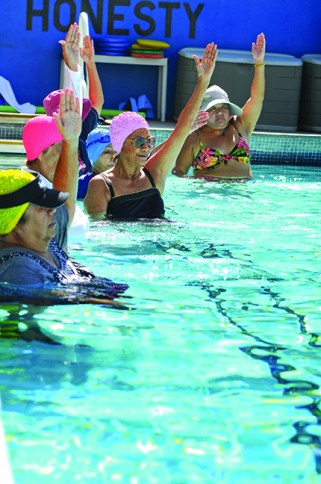 Seniors in the Swimming Pool - Generations Magazine - April - May 2013