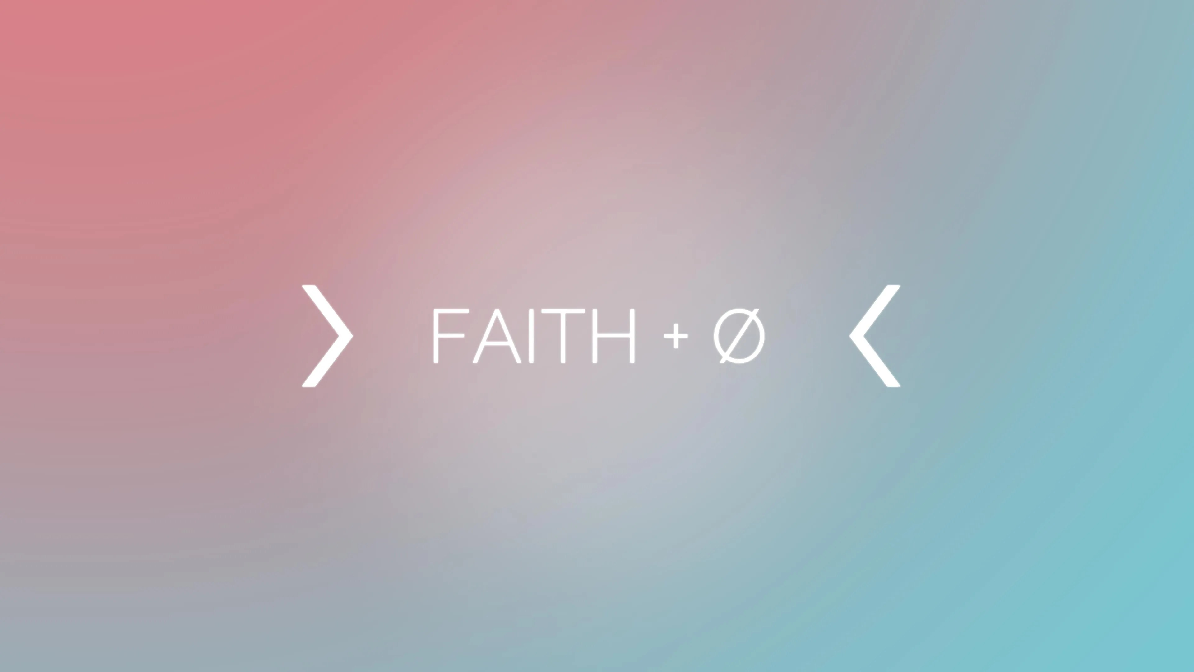 Faith Plus Nothing Message Series