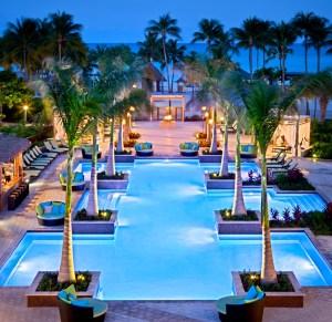 The Aruba Marriott adult pool