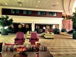 Southbridge Hotel lobby