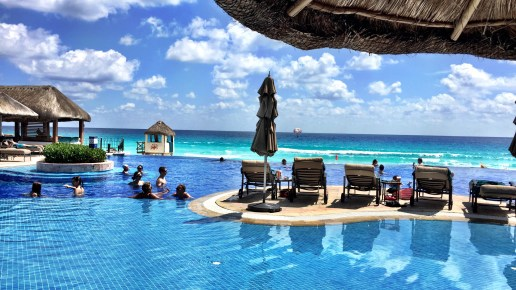 Fun, Sun, and Two Great Hotels in Cancun