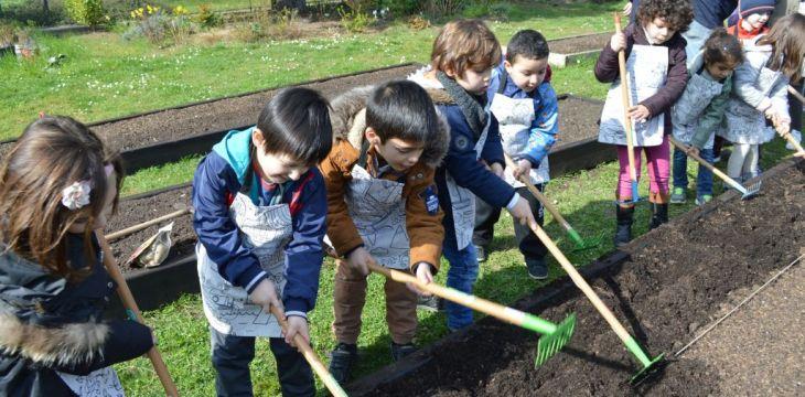 Le jardin à l'école !