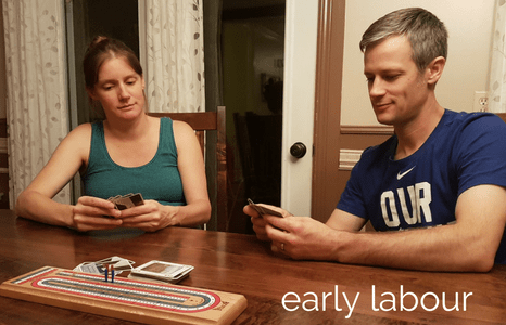 Early labour! What's happening, what to expect, and how to cope.