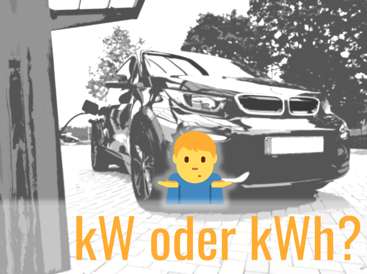 kW oder kWh?