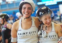 Rainy City Roller Derby Picture: Jason Ruffell