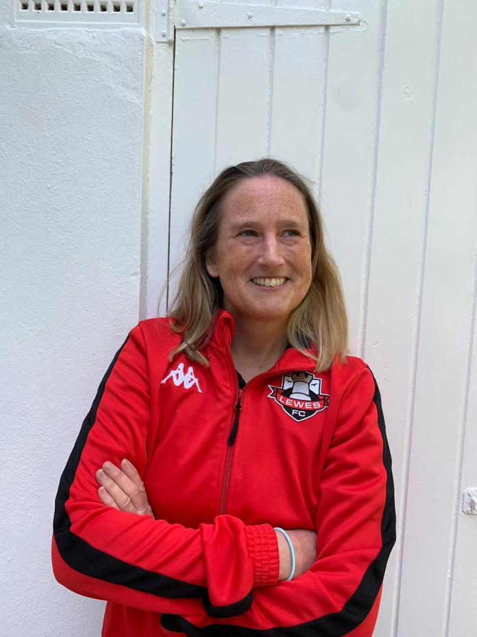 Alison Palmer, football coach