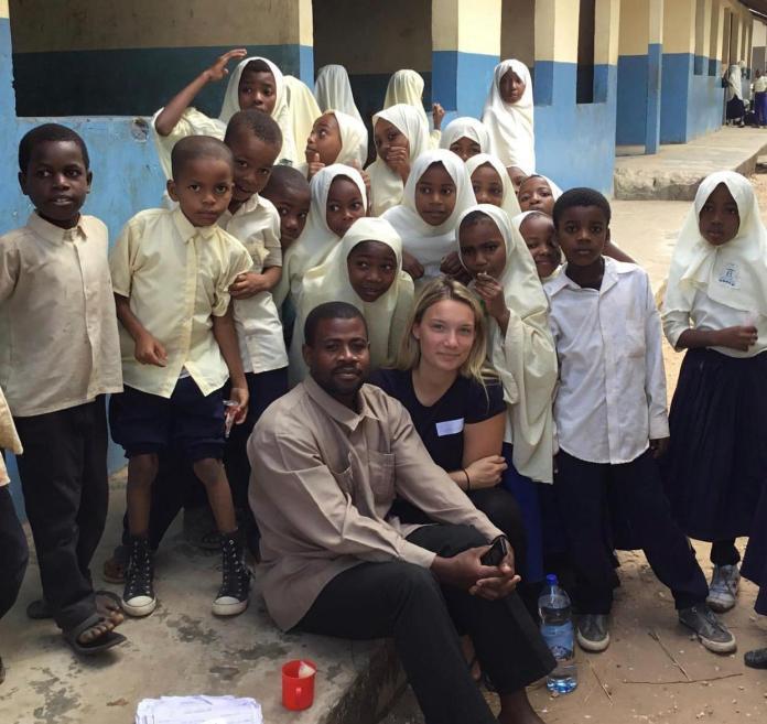 The trip to Zanzibar