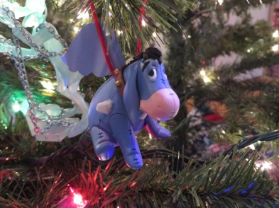 Daww! Don't Look so sad Eeyore! It's Almost Christmas! :)