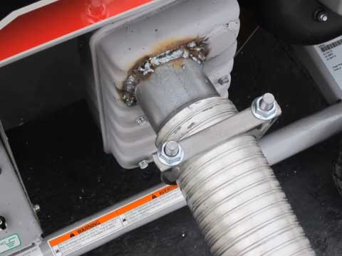 how to make an exhaust extension for