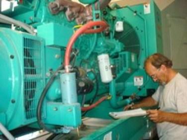 Tech repair Emergency Generator