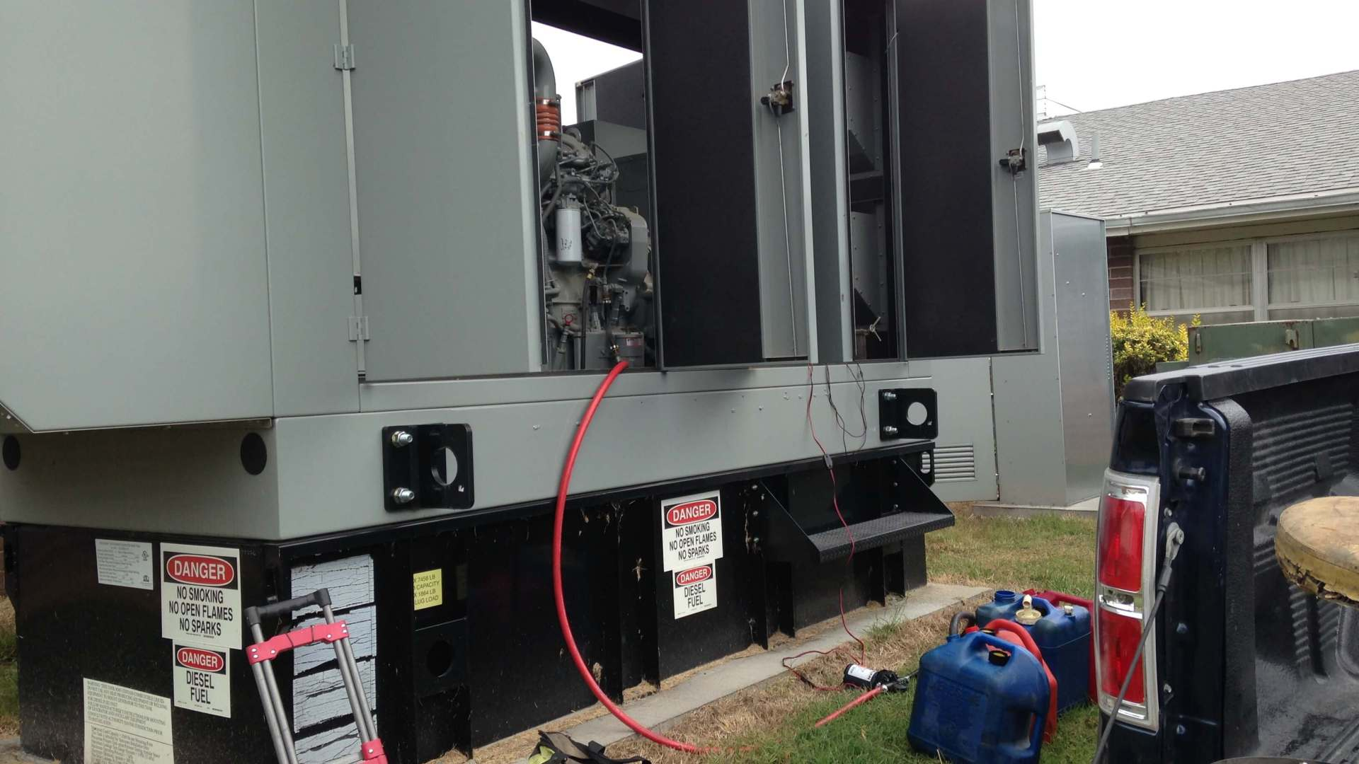 Emergency Generator Service (also known as backup and/or standby)